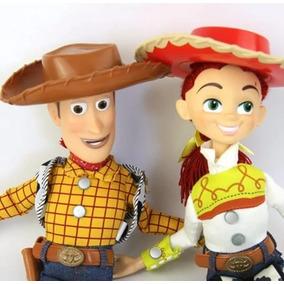Toy Story Woody Jessie Falando Dos Desenhos Animados