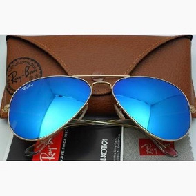 dcf3b04dd4 9726e a8f1c; real rayban aviator espejado azul originales. impecables.  41399 4d962