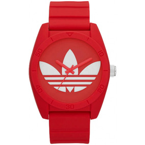 Reloj adidas Adh6168 Santiago Rojo Unisex 100%original Wr50m