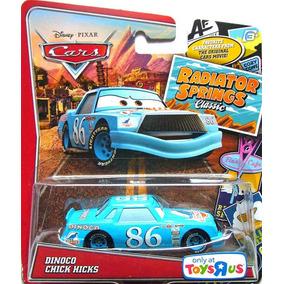 Disney Cars Dinoco Chick Hicks Mattel Tenho Outros Mcqueen
