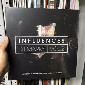 Lp Dj Marky - Influences Vol 2 Vinyl Duplo Importado Lacrado