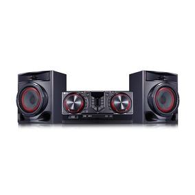Minicomponente 480w Bluetooth Karaoke Lg Cj44