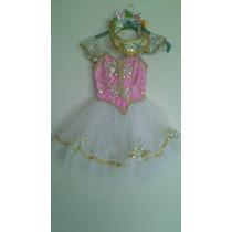 Vestidos D Ballet Tipo Princesa Recitales Cumpleaños Eventos
