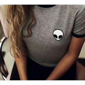Camisetas Alien Algodón