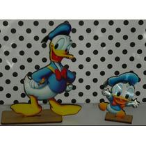 Souvenirs Pato Donald Grande Y Bebe De Fibrofacil
