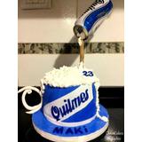 Torta Pastel 3 Kg Antigravedad Cerveza Quilmes