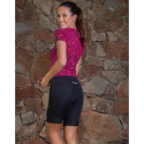 Calza Ciclista Mujer Lycra Sport - Fitness Point Mujer