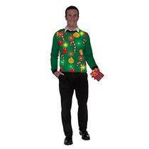 Luces Foro Novedades Light-up Suéter Feo De La Navidad