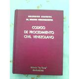 Codigo De Procedimiento Civil Venezolano Empastado Sin Uso