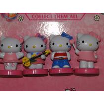 Kit Nova Coleção 04 Mini Bonecas Hello Kitty Disney Barbie
