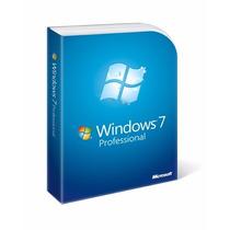 Windows 7 Professional 32 Y 64 Bits