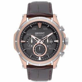 Relógio Orient Masculino De Couro Esport-fino Mtscc026