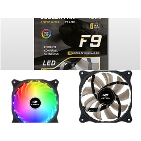 Cooler Fan 12cm 18 Led Multicolorido Storm F9-l150rgb C3tech