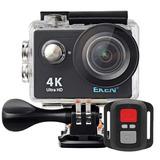 Camera Eken H9r 4k Original Wifi + Controle Full Hd Mergulho