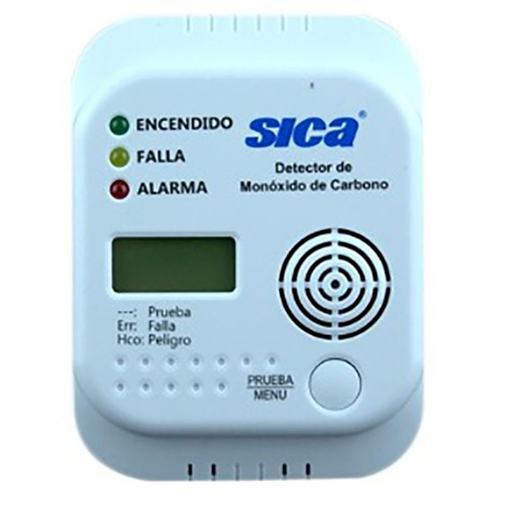 Detector De Monoxido De Carbono Sica