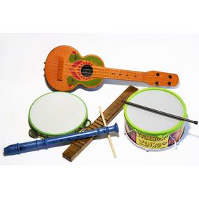Kit Musical Infantil Educativo Musicalidade Instrumentos