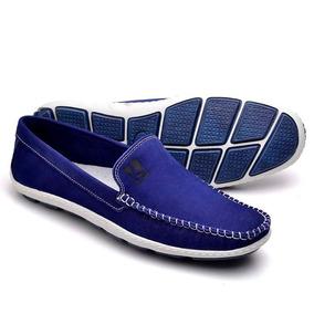 bfb23d44ff Sapatilha Esporte Masculina - Sapatos Azul no Mercado Livre Brasil