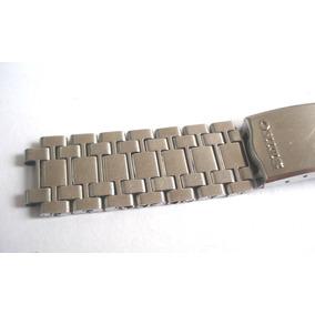 Pulseira Relógio Seiko 18mm Aço Inoxidável Antiga Déc.60
