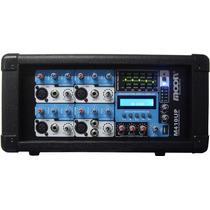 Consola Potencia Moon M410 Up 600w 10 Ent Mp3 Usb Bluetooth
