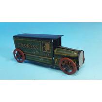 Antiguo Juguete Penny Toy Camion De 1920 De Hojalata