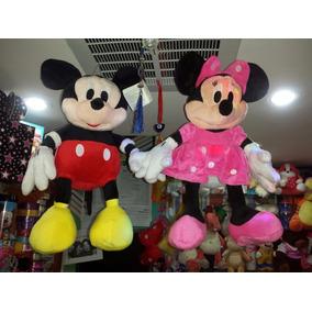 Peluche Mickey Y Minie Grande 55 Cm Hipoalergenico