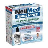 Neilmed Sinus Rinse - Kit Completo De Enjuague Nasal X50