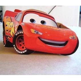 Centros Mesa Cars Rayo Mcqueen Infantiles Madera
