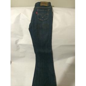 Jeans Levi´s Stretch Flare 517 Genuino Para Jovencita