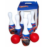 Juego De Bowling Hot Whells Bolos O Bolos Con Pelota Regalo