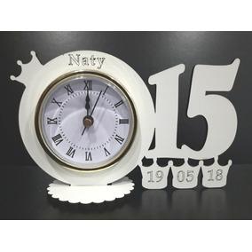 Souvenirs 15 Años Co Corona Y Reloj Personalizados