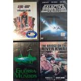 Lote Dvd Galactica Guerra De Los Mundos Etc