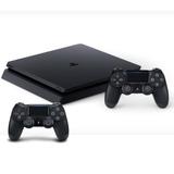 Consola Sony Playstation 4 Slim Ps4 1tb + 2 Joysticks Mexx