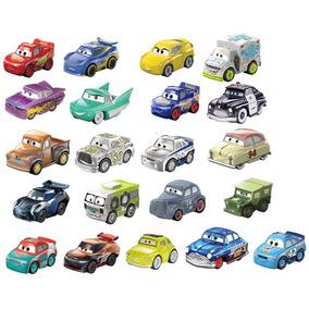 Set 21 Autos Disney Pixar Cars Mini Racers Pack Colección
