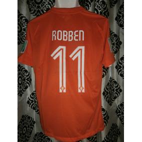 1b28260bfd0bb Jersey Holanda Local 2014 Arjen Robben Mundial