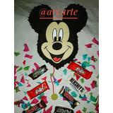 Mini Piñatas Y Cotillones, De Mickey Mouse, Minnie