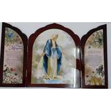Tríptico De La Virgen De La Medalla Milagrosa.