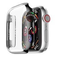 Capa Com Proteção De Tela Para Apple Watch 4 - 44mm - Preta