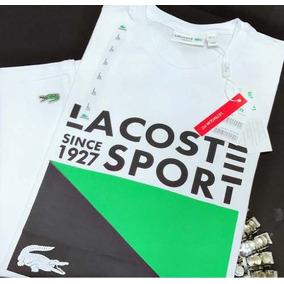 a196ac636785c Camisetas Lacoste Live! - Calçados, Roupas e Bolsas, Novo no Mercado ...