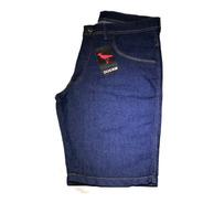 Bermuda Jeans Masculina Com Lycra  Elastano Nf  Envio Full