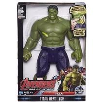 Boneco Articulável Avengers Vingadores Hulk C/som,luz E 30cm