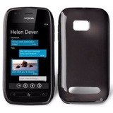 Capa Case Tpu Gel Celular Nokia Lumia 710 Pelicula Gratis