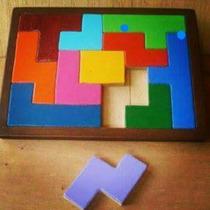 Rompecabezas Formas Geométricas Didáctico