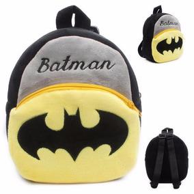 Mochilas Peluche Batman Bebés Niños Pequeños Envío Gratis