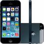 Iphone 5 16gb Preto Completo Acessórios Mfi Originais Brinde