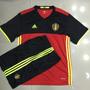 Camisa Seleção Bélgica Home Kit