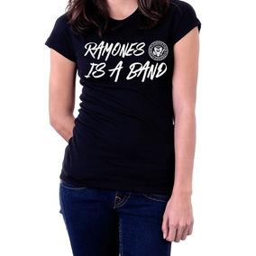 Camiseta Blusa Feminina Ramones Is A Band