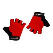 Luva Ciclismo Tsw Combat Meio Dedo Vermelha Speed Dh Mtb Par