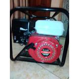 Motobomba Sol Power 6,5 Hp, 4 Tiempos, Capacidad 6,3 Litros