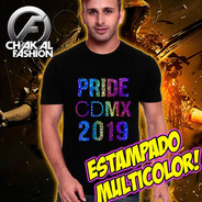 Playera Lgbt Orgullo Gay Pride Marcha 2019 Arcoiris