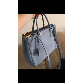 e6280730dcb17 Bolsas Prada de Couro Femininas Azul no Mercado Livre Brasil